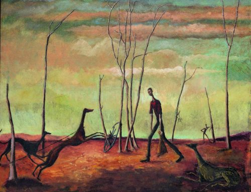 The Jackeroo turned painter – Drysdale