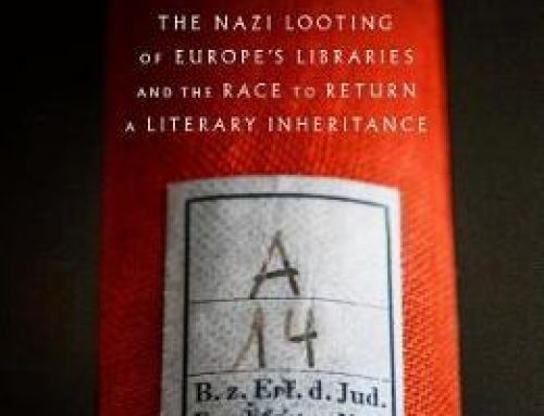 The Book Thieves – what else the Nazi's stole