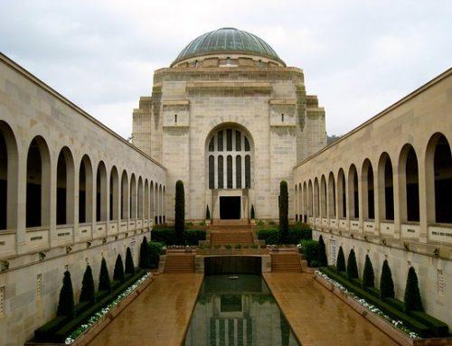 """all men are equal in death"". The Australian War Memorial"