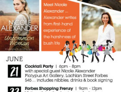 'Girls Day Out' Forbes NSW. 21st & 22nd June.