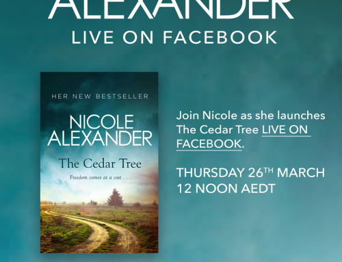 Nicole Alexander & The Cedar Tree FACEBOOK LIVE THURS 26th MARCH 12noon AEDT