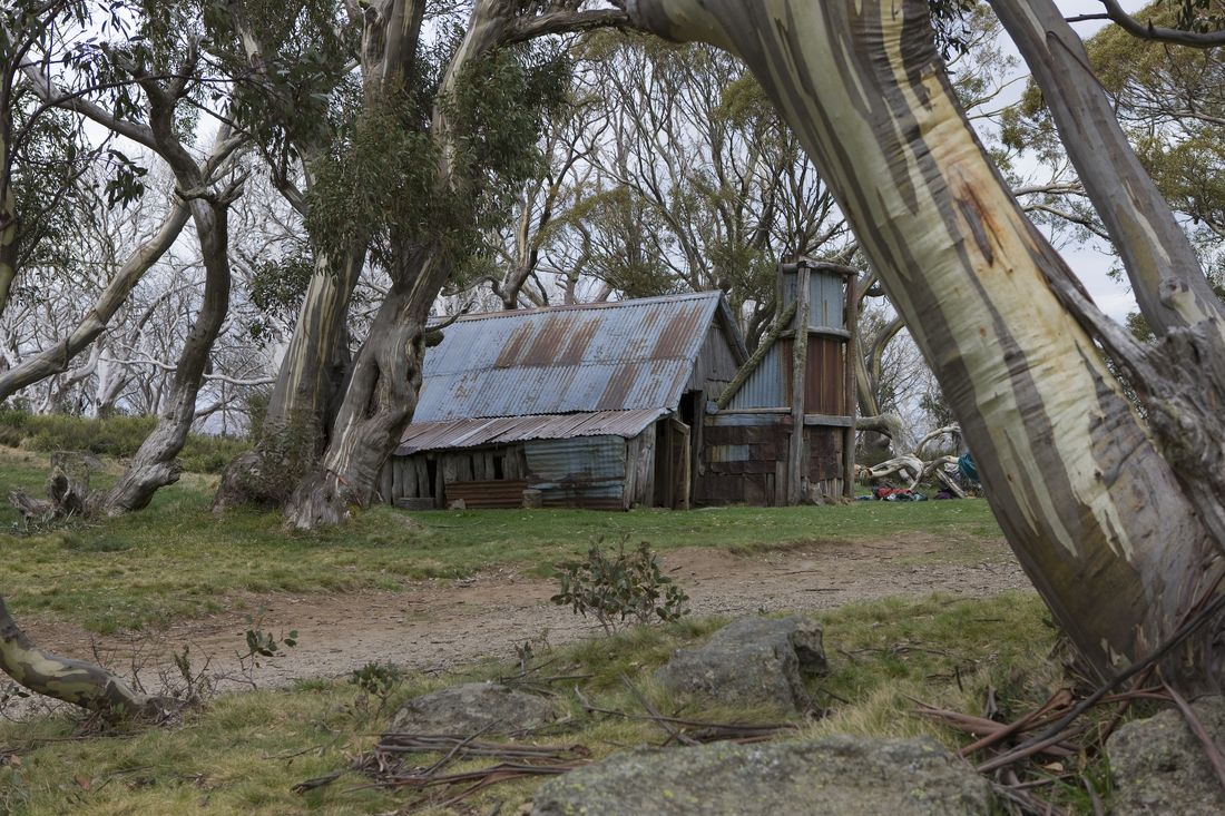 High country in the Victorian Alps