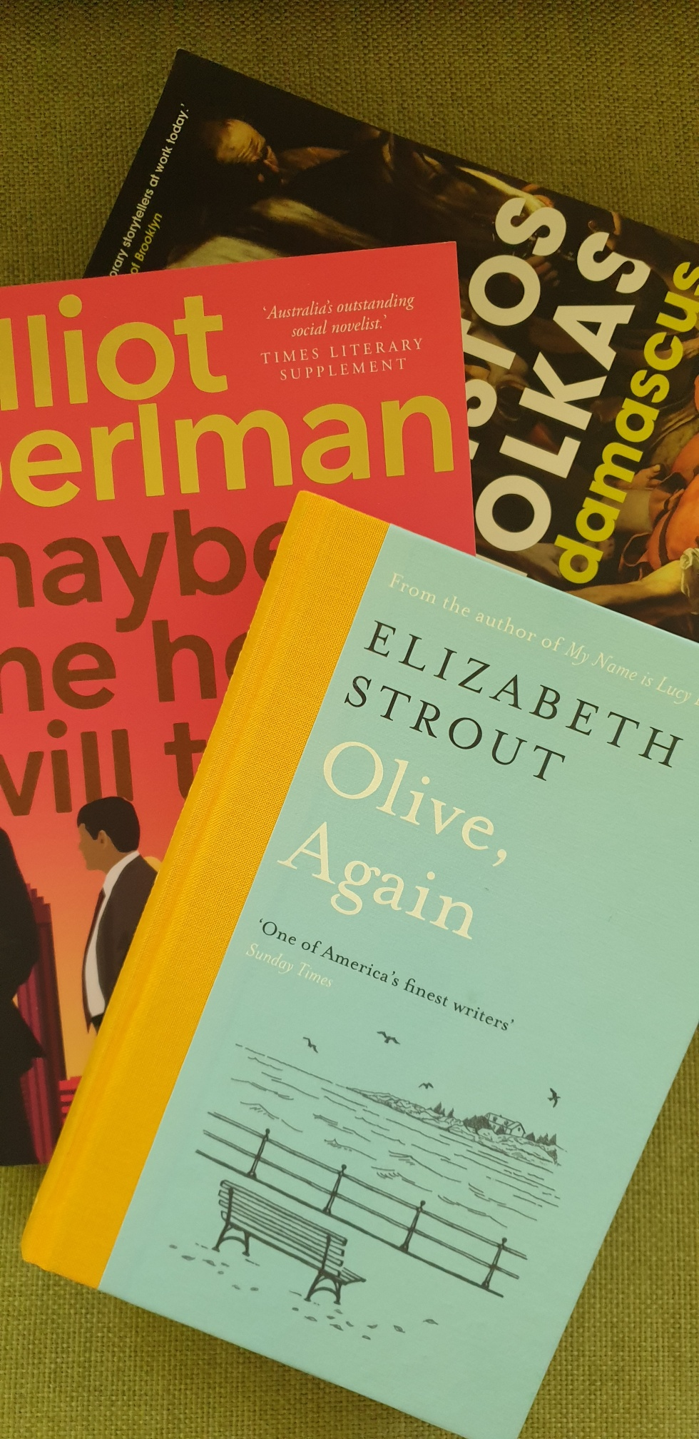 A man on a cross, a woman in Maine and something about a horse. February reads.