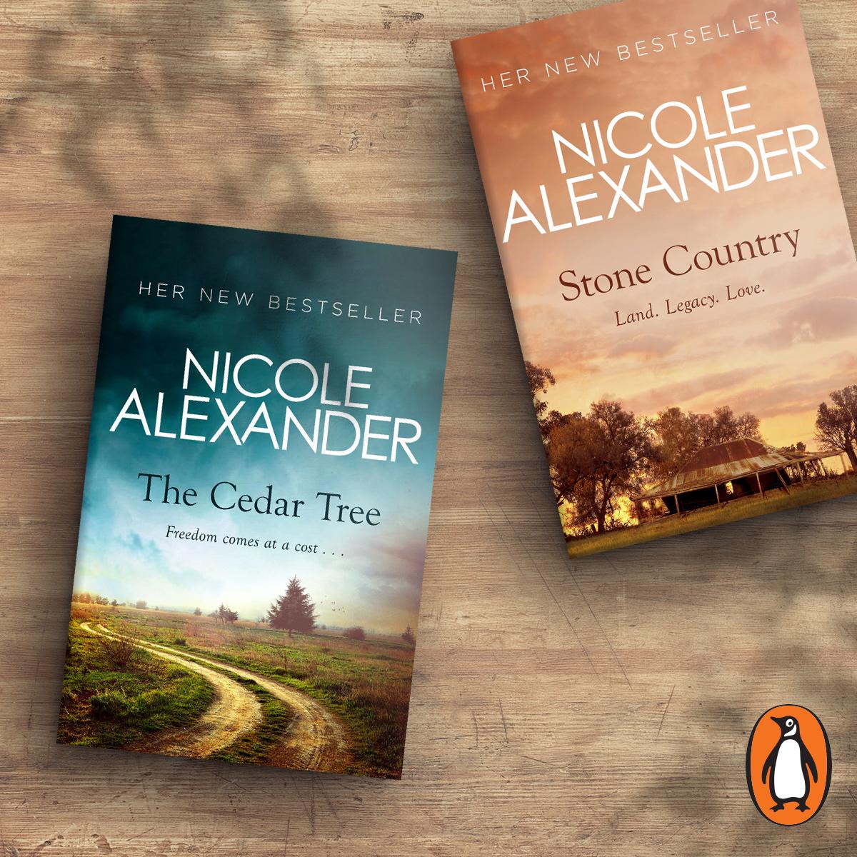 The Cedar Tree hits #4 spot on the Australian Fiction List!